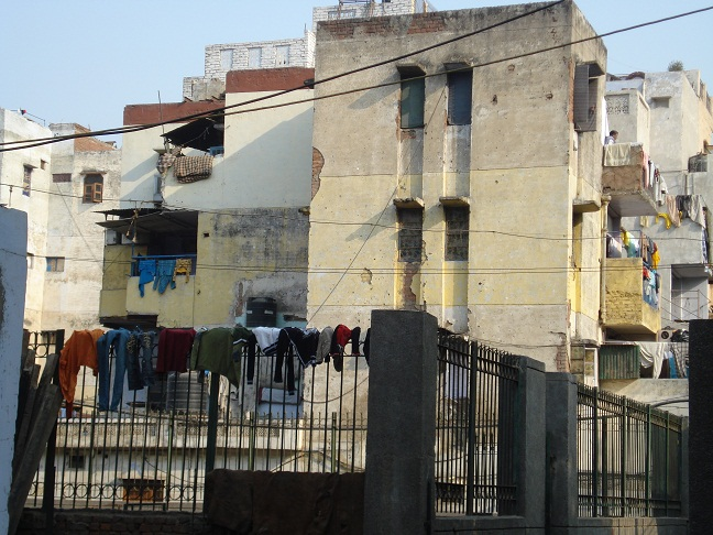 old houses in old delhi
