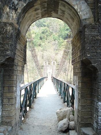 corbett suspension bridge