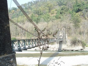suspension bridge corbett
