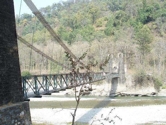 suspension bridge corbett