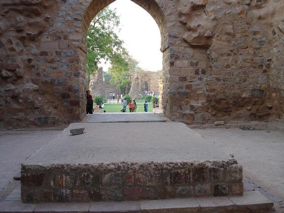 Allaudin Khalji tomb