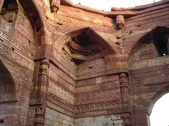 Inside grave of Iltutmish