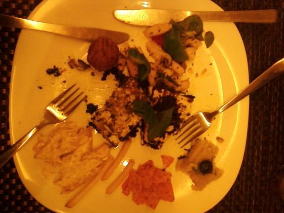 colony bistro veg platter