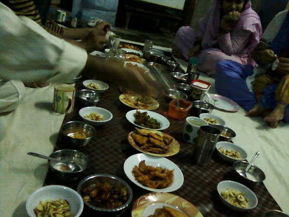 iftar in agra