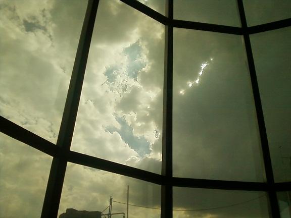 delhi sky clouds