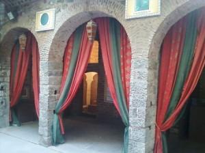 arches ghalib memorial