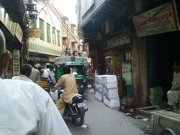 rickshaw ride chandni chowk