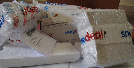 snapdeal packaging