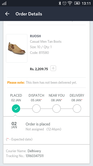 myntra app sales review