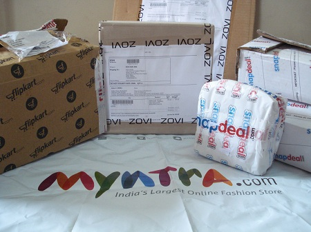 myntra packaging