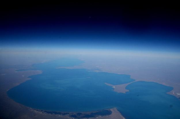 Lake Balkhash map