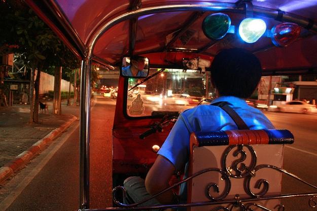 bangkok city tuk tuk