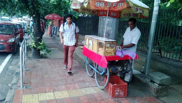hindu college bhelpuriwala