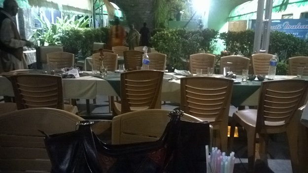 moti mahal outdoor seating