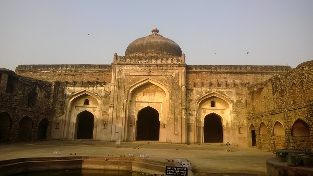 Khairul Manazil old fort delhi
