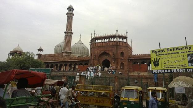 jama masjid gate no 1