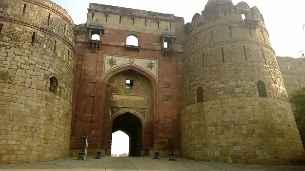 purana qila old fort delhi