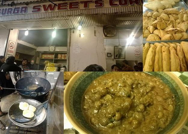 durga sweets corner chandni chowk