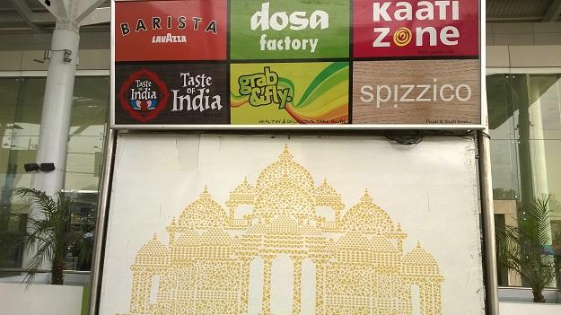 delhi airport food