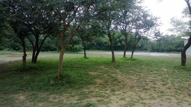 delhi rains in jnu