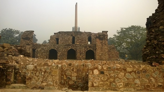 feroz shah kotla ruins
