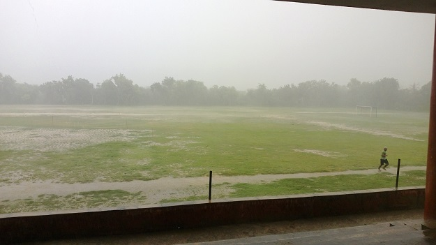 rains in jnu