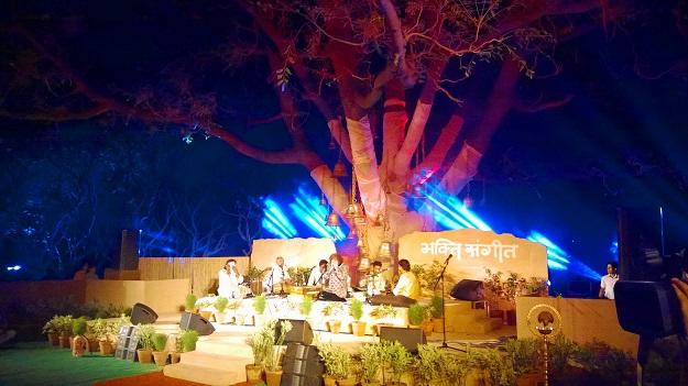bhakti sangeet festival nehru park