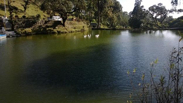 bhulla tal lake in lansdowne hills