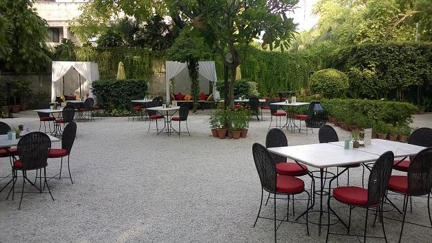 Lodi Garden Restaurant delhi