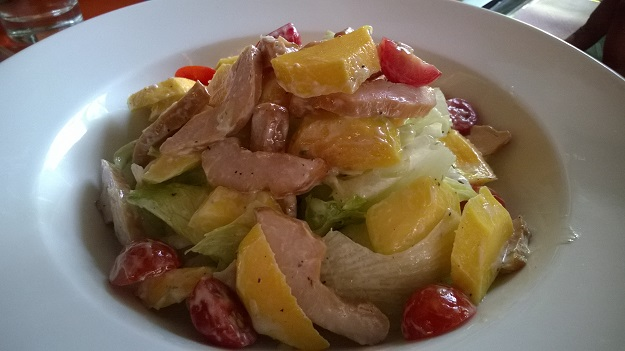 chicken and mango salad Lodi