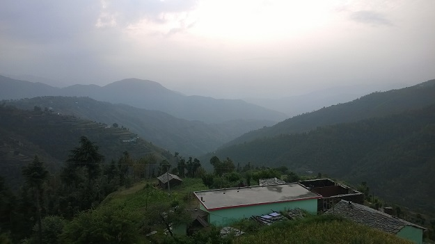view from east view homestay chail