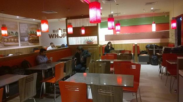 burger king delhi