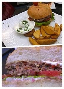 lamb burger 1 oak