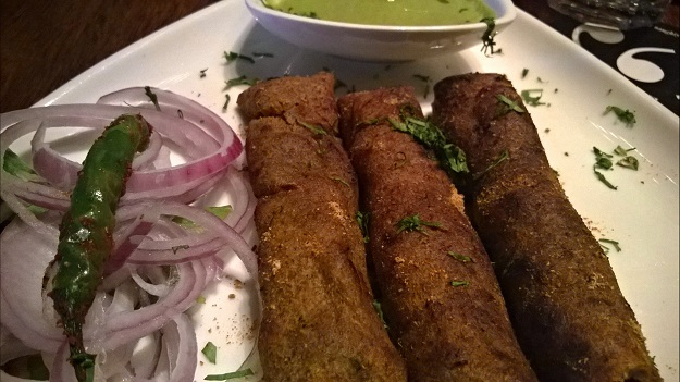 phalahari kebabs at Quote Bar