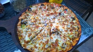 pizza at 1 oak defence colony