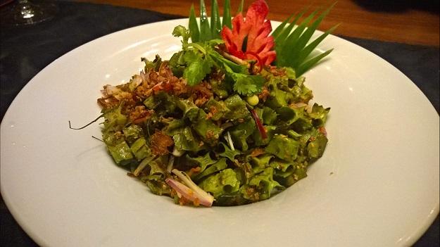 winged beans salad at neung roi delhi