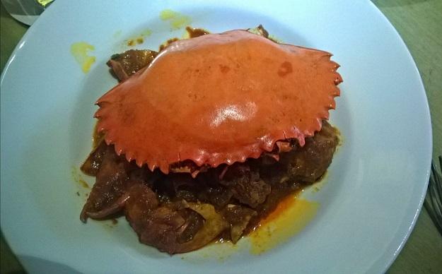 crab masala mandaa restaurant delhi