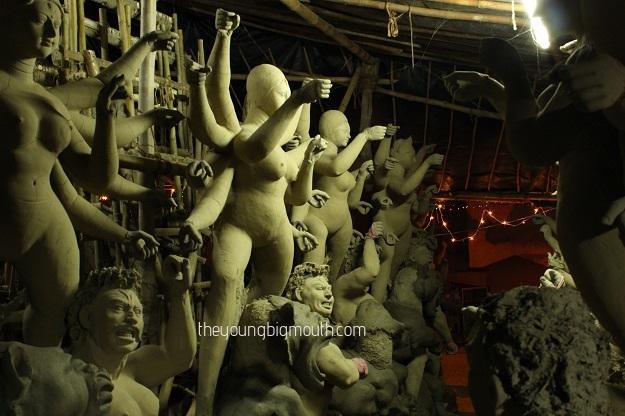 CR Park Kalibari Durga puja