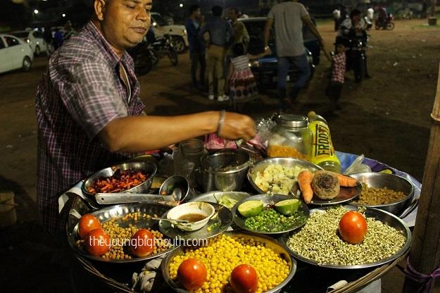 sprout chaat bhubaneswar