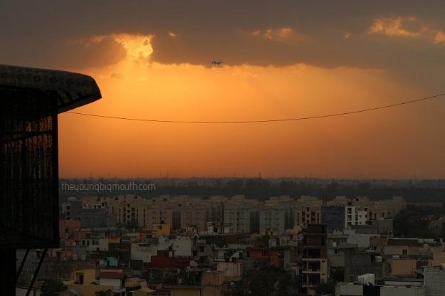 delhi evening