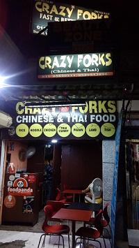 crazy forks dimsums dwarka
