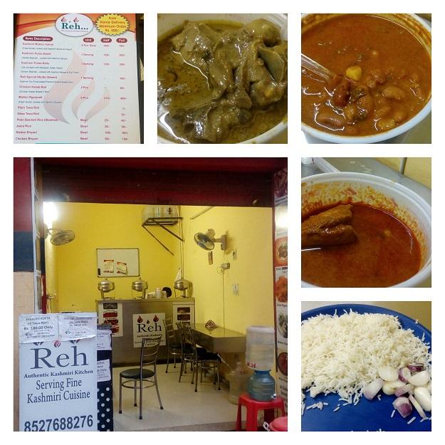 reh kashmiri food dwarka