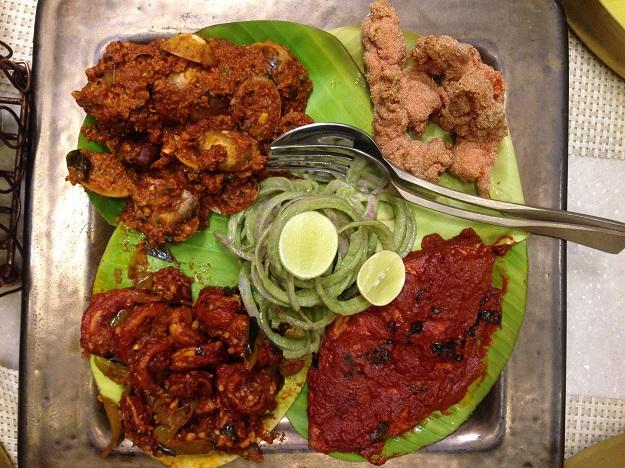 sanadige seafood platter