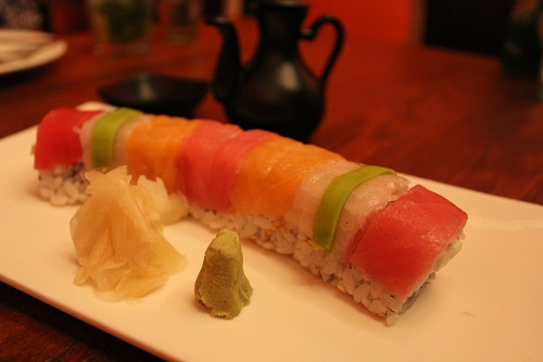 rainbow sushi khan market town hall