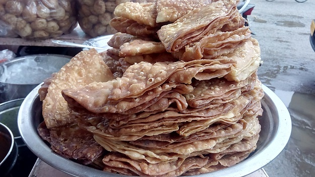 papdi alwar streetfood