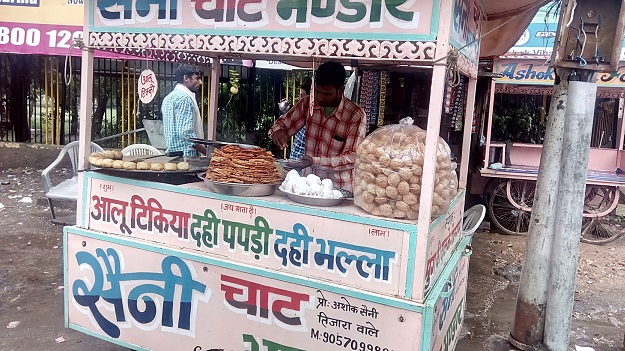 streetfood in alwar