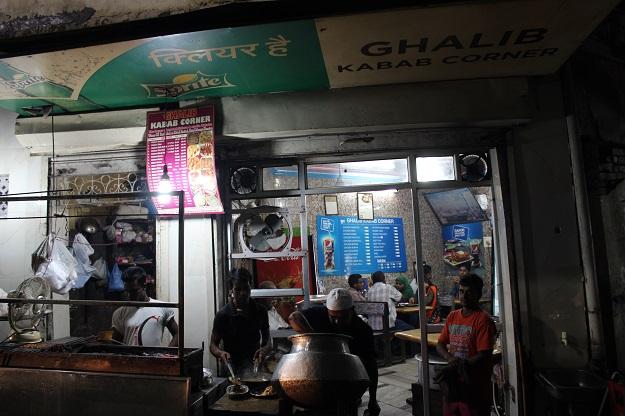 ghalib kebab corner nizamuddin