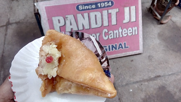 gwyer hall canteen meetha samosa
