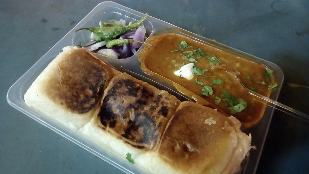 pav bhaji at vada pav junction