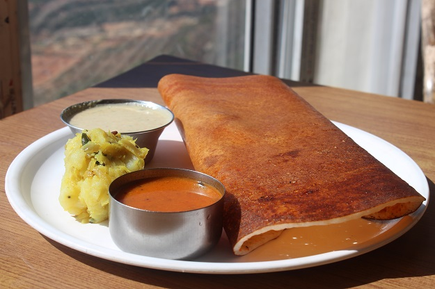 dosa at hotel maurya pinetop